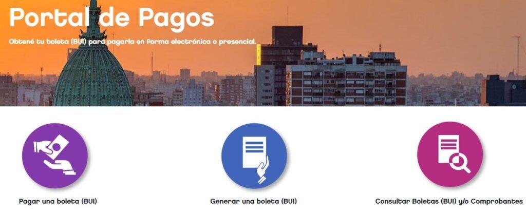 Pagar boleta para el certificado de convivencia en Argentina