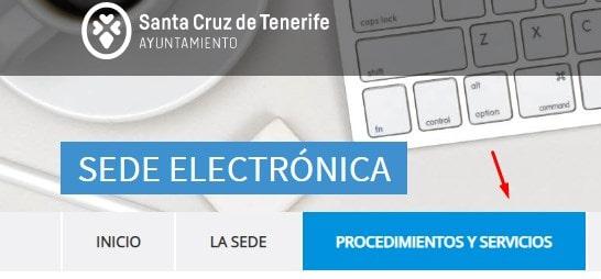 Trámite telemático del certificado de convivencia Santa Cruz de Tenerife
